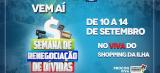 Semana de Renegociação de Dívidas de 10 a 14 de setembro em São Luís