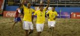 Brasil conquista 12º título da Copa América de Beach Soccer