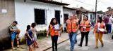 Defesa Civil acompanha famílias de áreas de risco e mantém monitoramento