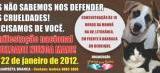 """Manifestação """"Crueldade Nunca Mais"""" acontece dia 22 na Litorânea"""