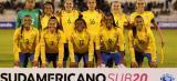 Brasil é líder do Grupo B do Sul-Americano Sub-20