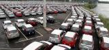 Exportação de veículos cresce 2,4% em julho; produção cai 2,7%