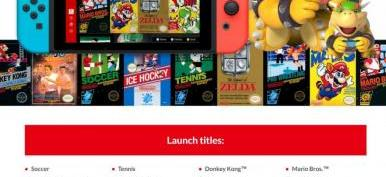 Assinatura do Nintendo Switch Online custará R$ 74