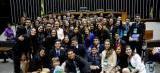 Estão abertas as inscrições para a 14ª edição do Parlamento Jovem Brasileiro