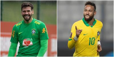 Alisson e Neymar são indicados ao The Best FIFA Awards 2020