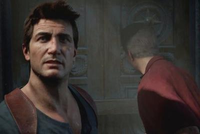 cena do jogo uncharted